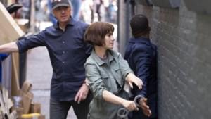 Op de set bij opnames Britse detectiveserie in Amsterdam: weinig toeristen als 'een redding'