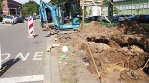 Opnieuw leidingbreuk in Roermond: aantal huishoudens zonder water