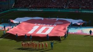 Eriksen vanuit ziekenhuisbed: Deense spelers waren ongelooflijk goed