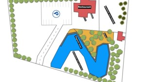 Avonturenpark met magneetvisvijver, speeltuinen en terras opent binnenkort in Meerssen