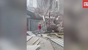 Zeker één dode door instorten steiger Antwerpen, nog vijf mensen vermist