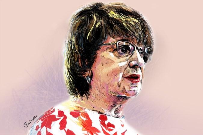 Informateur en polderkoningin Mariëtte Hamer: als er tegen haar gegromd wordt, gromt ze terug