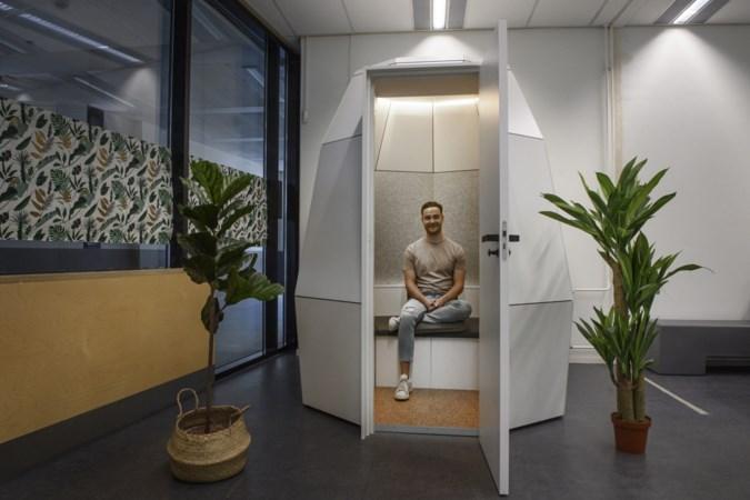 Meditatiecapsule bij de UM: 'We staan alsmaar aan, maar je moet ook een keertje uit'