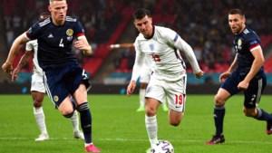 Engeland nog niet zeker van mooie EK-route na gelijkspel tegen Schotland