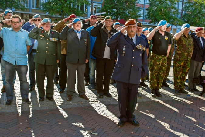 Kerkrade hijst twee keer de veteranenvlag