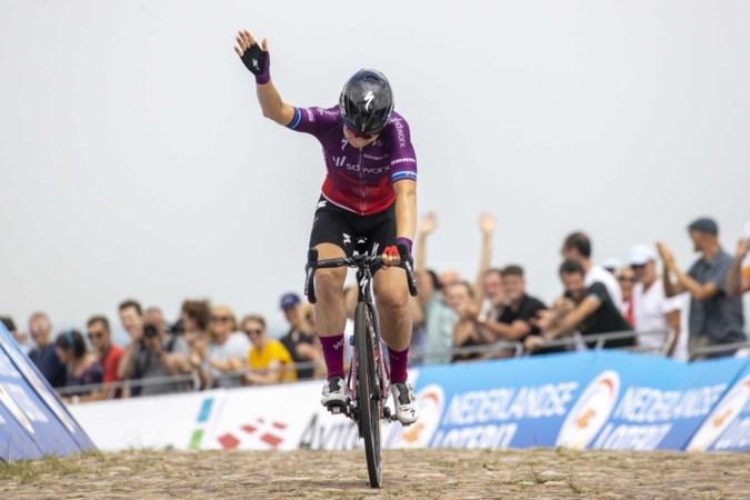 Amy Pieters verovert Nederlandse titel op VAM-berg; Sabrina Stultiens eindigt als zesde