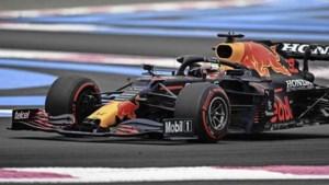 Max Verstappen verreweg de snelste tijdens laatste training in Frankrijk