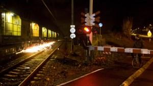 Slijpwerkzaamheden aan spoor Valkenburg