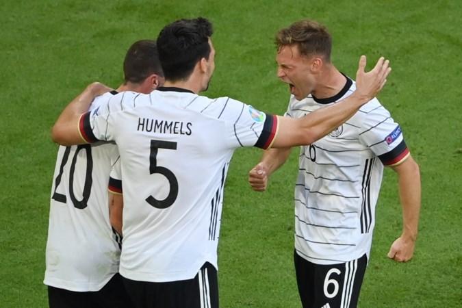 Ontketend Duitsland wint spektakelstuk van Portugal