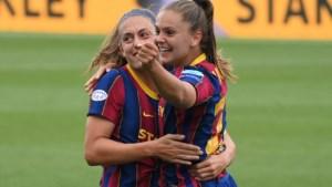 Lieke Martens draagt met goal bij aan 30ste zege FC Barcelona