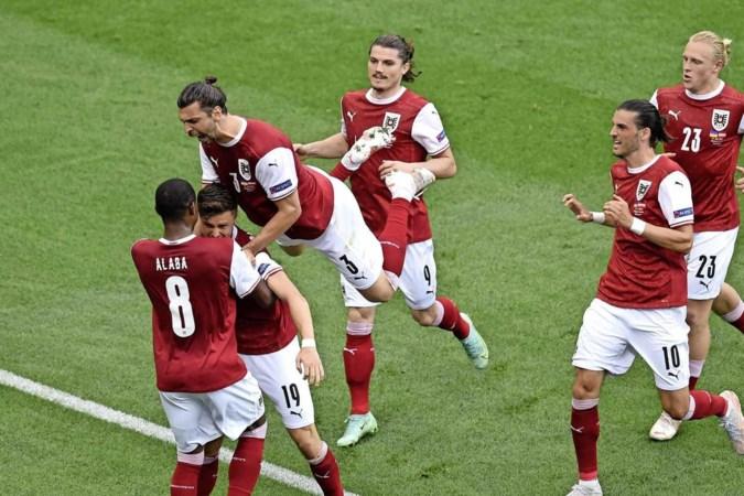 Oostenrijk verslaat Oekraïne en stuit in achtste finales op Italië