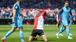 Spits Jørgensen vertrekt bij Feyenoord