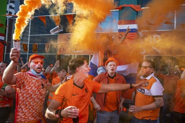 Oranjefans kunnen in Boedapest naar fanzone in stadspark