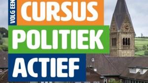 Volg de gratis cursus Politiek Actief!
