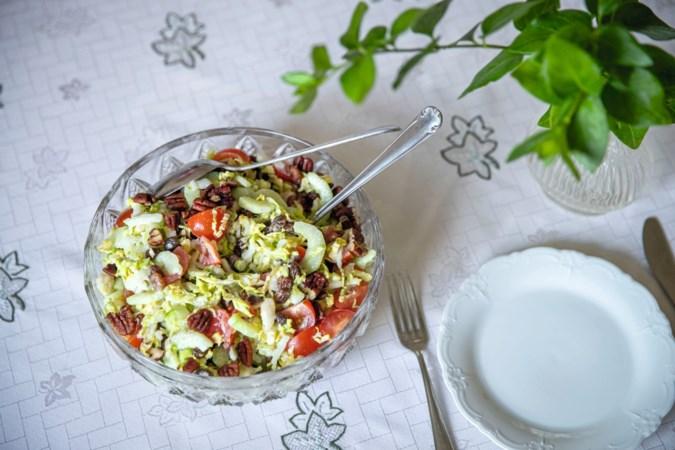 Maak in een handomdraai deze salade van Annie, ook lekker voor bij de bbq