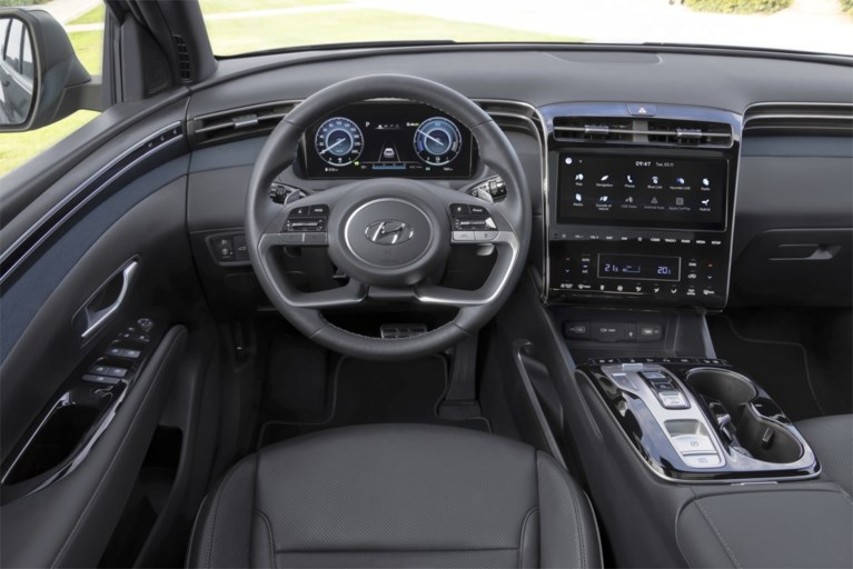 Hyundai Tucson heeft ook als hybride onderscheidend vermogen