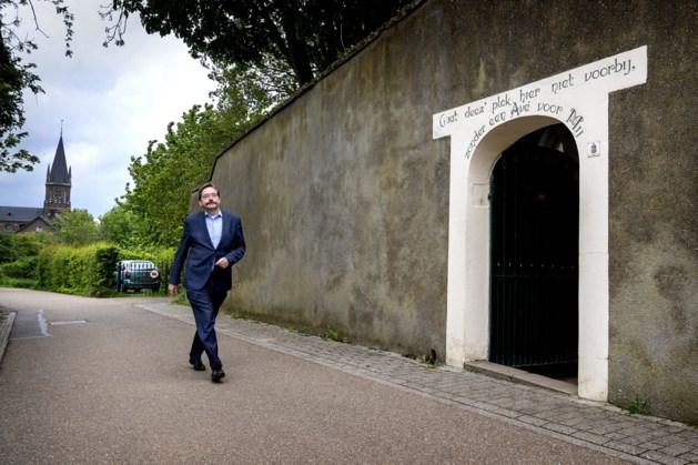 Koningspaar ontvangt oud-gouverneur Theo Bovens voor afscheidslunch