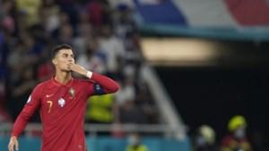 Cristiano Ronaldo evenaart oud mondiaal record: 109 goals voor Portugal
