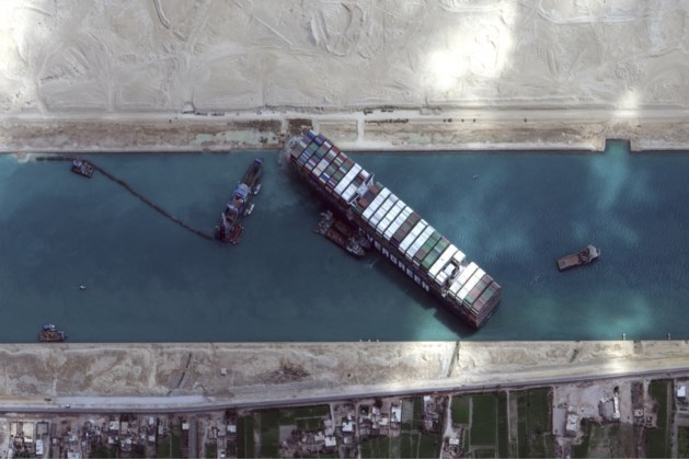 Akkoord bereikt over schade blokkeerschip Suezkanaal
