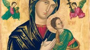 Voettocht van Simpelveld naar klooster Wittem op feestdag van Onze Lieve Vrouw van Altijddurende Bijstand