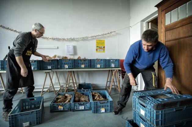 Streekproducten van lokale producenten op proeverij bij Buurderij Heerlen