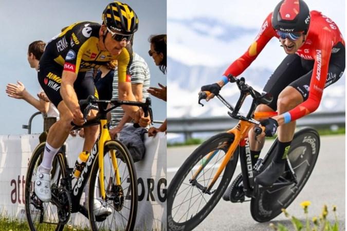 Liever een ritzege in de Tour of een dag de gele trui? We legden de Limburgse troeven Mike Teunissen en Wout Poels enkele dilemma's voor