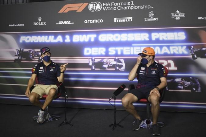 Relaxte Max Verstappen blij met teamgenoot, maar niet met Hamilton: 'Misschien moet hij een bril kopen'