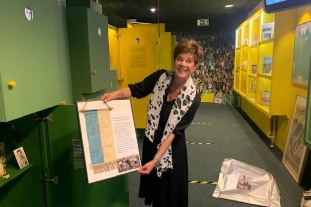 Wedstrijdvaantje Fortuna'54 in bezit Fortuna Museum