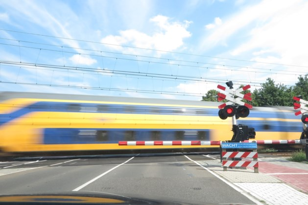 ProRail werkt aan het spoor in Echt-Susteren
