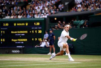 Federer is de graskoning, maar niet in duels met Djokovic