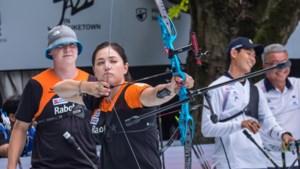 Handboogschutters Schloesser en Van den Berg naar gemengde finale wereldbeker Parijs