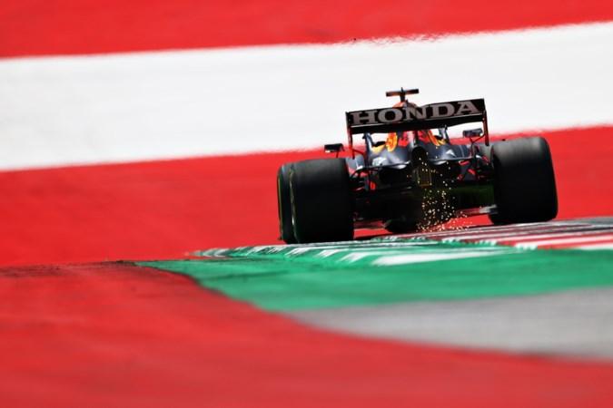Max Verstappen snelste in eerste vrije training GP Stiermarken