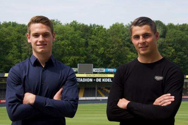 Eerste profcontract voor jeugdspelers Craenmehr en Nabbe bij VVV