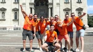 Fanzone in warm Boedapest stroomt langzaam vol met Oranjefans