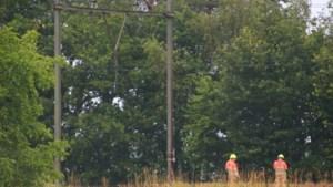 Geen treinverkeer tussen Venlo en Helmond door defecte bovenleiding