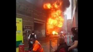 Grote brand bij Londens metrostation onder controle: een gewonde