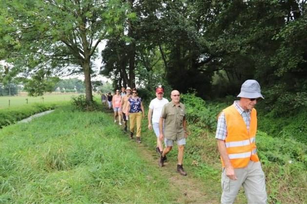 Wandeling langs Maas met TweeDorpenOverleg Blerick en Hout-Blerick