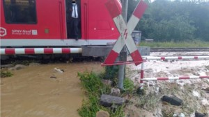 Treinreizigers vlak over de grens bij Eygelshoven geëvacueerd vanwege elektrocutiegevaar