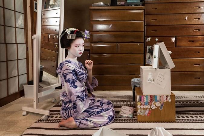 Een expositie over de wereld van de geisha's: 'Het zijn geen prostituees, dat is een hardnekkige misvatting'