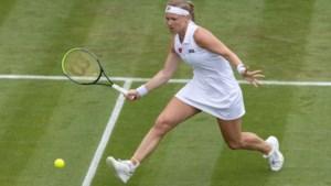 Kiki Bertens ook in dubbelspel direct uitgeschakeld op Wimbledon