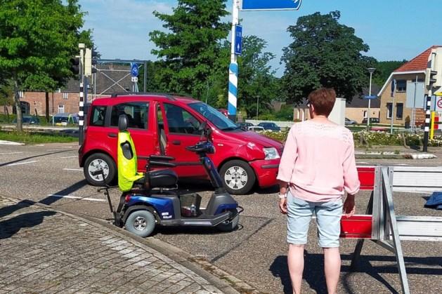 Bestuurder scootmobiel raakt gewond bij ongeluk in Swalmen