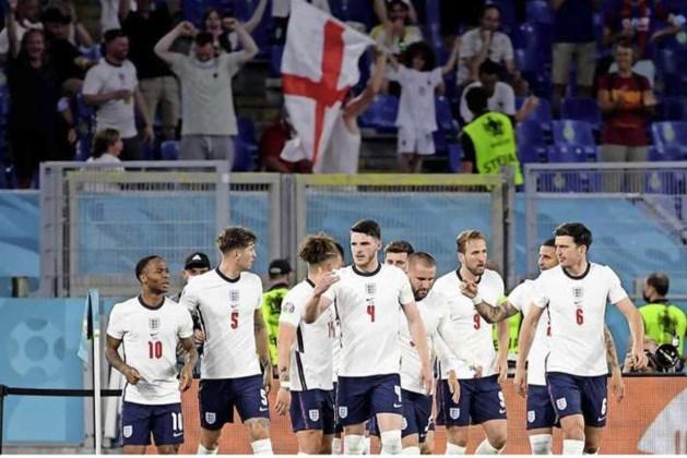 Engeland verslaat Oekraïne (4-0) en treft Denen in halve finale