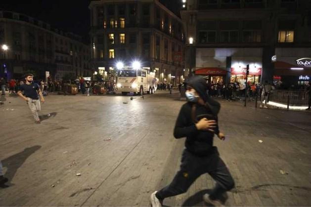 Rellen in Brussel na uitschakeling 'Rode Duivels'