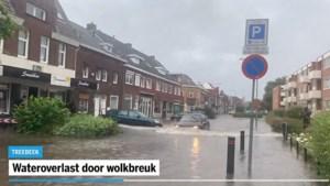 Video: Meerdere onweersbuien en lokaal wateroverlast in Limburg