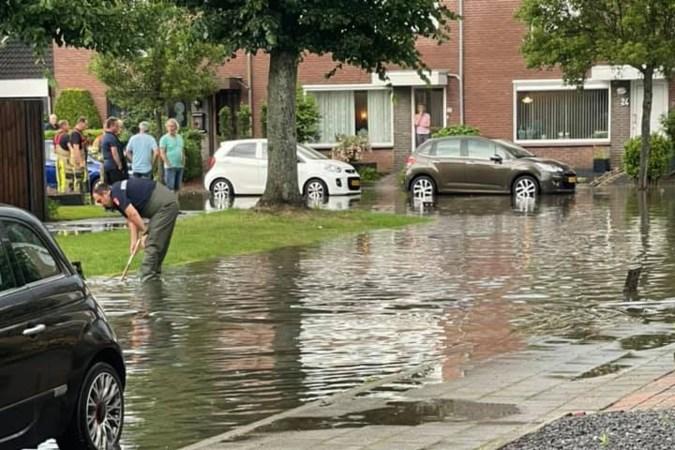 Wateroverlast beperkt tot vijf plekken in Sittard-Geleen en Maastricht