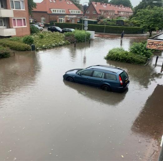 Meerdere onweersbuien en lokaal veel regen in Limburg