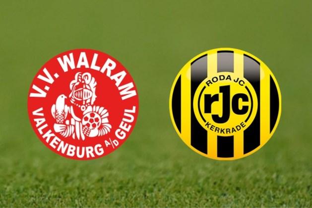 Roda JC oefent zaterdag 3 juli tegen VV Walram