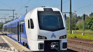 'Trek Drielandentrein door van Aken naar Eindhoven CS'