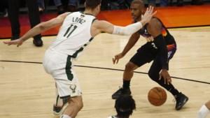 Basketballers Phoenix Suns aan de leiding in NBA Finals