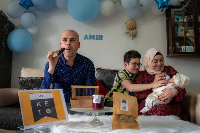 Syrische vluchteling Mahmoud (41) uit Geleen wint nationale pitch voor ondernemers: 'Droom om diabetici zorgeloos te kunnen laten eten komt uit'